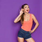 Can You Speak Louder Royalty Free Stock Images