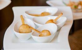Cana-de-açúcar envolvida com camarão Foto de Stock Royalty Free