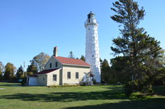 Cana Island Light House. Door County Wi Royalty Free Stock Image
