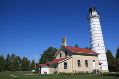 Cana Island Lighthouse stock images