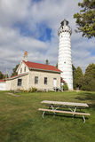 Cana Island Lighthouse Stock Images