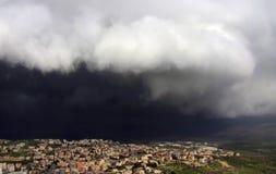Cana van Galilee vóór het onweer Royalty-vrije Stock Foto
