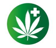 Canabis-Medizin Lizenzfreies Stockbild