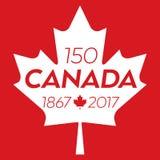Canadá 150 Foto de archivo libre de regalías