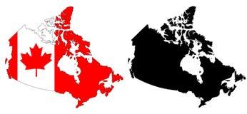 Canadá Ilustração do Vetor