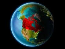 Canadá na noite Imagem de Stock Royalty Free