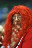 Canadá que se encrespa aviva el pelo del rojo de la barba Imagenes de archivo