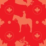 Canadá sem emenda Imagens de Stock Royalty Free