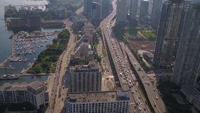 Canadá Toronto julho de 2017 aéreo Sunny Day 4K inspira 2