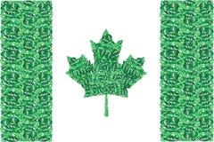 Canadá verde ilustración del vector
