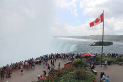 Canadá Niagara Falls, lago Imágenes de archivo libres de regalías
