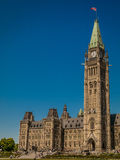 CANADA'S PARLAMENTARISK POLISDISTRIKT Arkivbilder