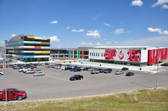 Canadaâs Sports Hall of Fame Lizenzfreies Stockbild