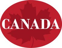 canada Illustration Stock