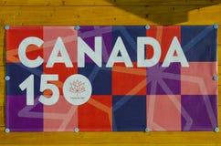 Canada 150 Royalty-vrije Stock Afbeelding