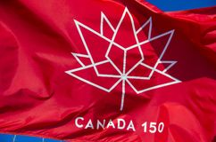 Canada 150 Royalty-vrije Stock Foto