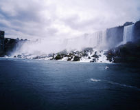 Canada-17. The Niagara great falls landscape in Canada-17 Royalty Free Stock Images