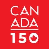 Canada 150 illustration stock