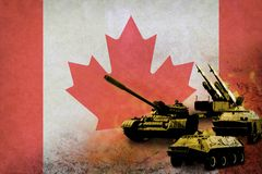 Canada army, military forces Royalty Free Stock Photo