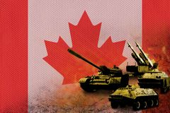 Canada army, military forces Stock Photography
