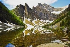 Canada_banff_agnes zdjęcie stock
