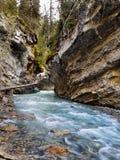 Canada, Banff National Park, Canyon River Stock Photo