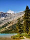 Canada, Banff National Park, Mountains Lake Scene stock image
