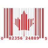 Canada bar code Royalty Free Stock Photography