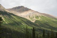 Canada - British Columbia - Yoho Nationalpark. Mountain view at the Yoho National park Stock Photo