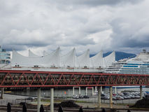 canada centrum konwencji Vancouver miejsca handlu Obrazy Royalty Free