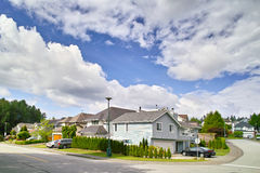 Canada Coquitlam neighborhood. Eastphoto, tukuchina, Canada Coquitlam neighborhood Stock Images