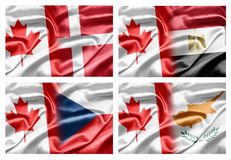 Canada and Countries Stock Images