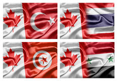 Canada and Countries Stock Photography