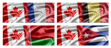 Canada and Countries Royalty Free Stock Image