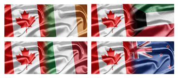 Canada and Countries Royalty Free Stock Photo