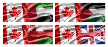 Canada and Countries Stock Image