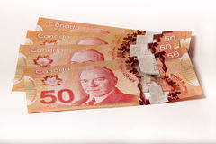Canada Currency Royalty Free Stock Photo