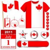 Canada Day. Stock Photos