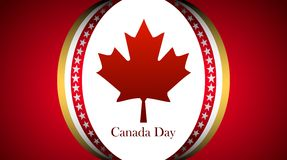 Canada Day. 1 july Canada Day vector background Royalty Free Stock Images