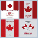 Canada Day. Abstract Canada day background with some special objects Royalty Free Stock Image