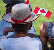 Canada Day Celebration Royalty Free Stock Photo