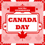 Canada Day celebration Royalty Free Stock Images