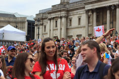 Canada Day 2017 celebrations in London Royalty Free Stock Image