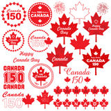 Canada Day clipart. Vector graphic Royalty Free Stock Image