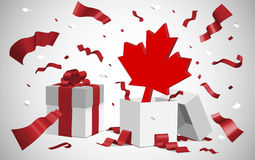 Canada day dt Royalty Free Stock Photo