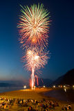 Canada Day Fireworks Stock Photos