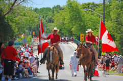 Canada Day in Glen Williams Stock Images