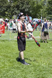 Canada Day Juggler Royalty Free Stock Photography