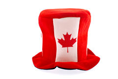 Canada day national holiday apparels. Funny hat Canada Day celebration apparel Royalty Free Stock Image