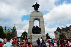 Canada Day National War Memorial. National War Memorial on Canada Day, Ottawa, Ontario, Canada Royalty Free Stock Photos